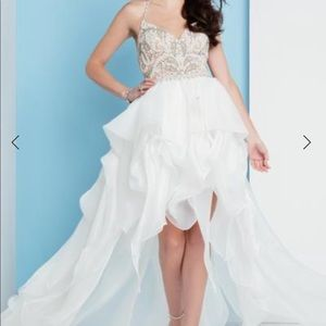 White Prom, Pageant or Bridal Gown